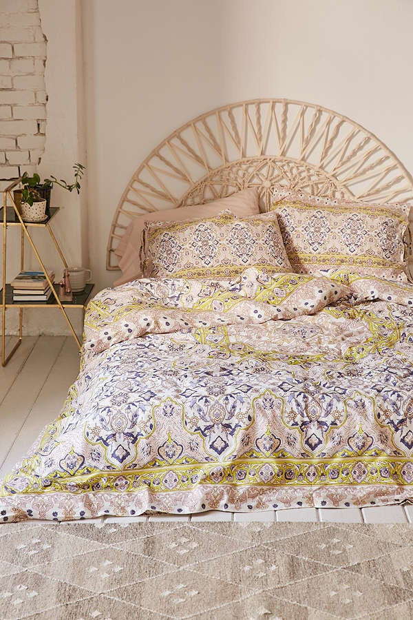 """Promising review: """"I absolutely love it! It met my expectations, and in fact it exceeded them. It's warm, comfortable, and has beautiful detail. You won't be disappointed."""" --AbbyZigGet it from Urban Outfitters for $75+ (down from $100+). Sizes: twin-kingGet the matching sham set here."""