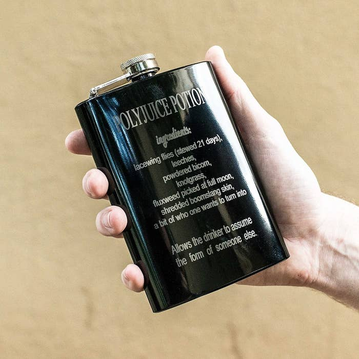 """Siriusly! The last time I drank from this, I developed an eye patch and everyone called me """"moody."""" Like, how would you know what I'm like? Ugh. Get it from Amazon for $24.99."""