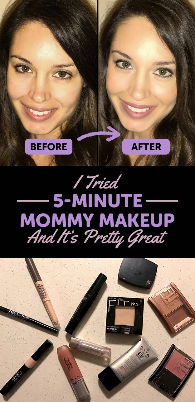 Five Minute Mommy Makeup Routine