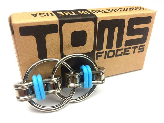 For serious fidgeters only, Tom's Fidgets can handle an impressive amount