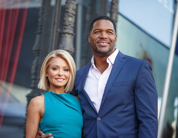 Michael Strahan served as Ripa's right-hand man for four years on the show before he blindsided her last year with news of his departure to anchor Good Morning America full-time.