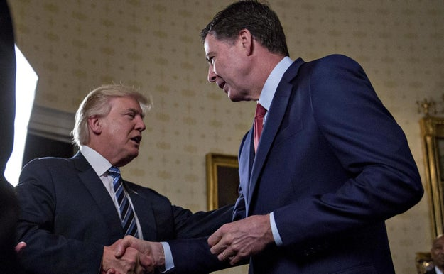 In case you slept through yesterday, Washington is currently in meltdown mode after President Trump on Tuesday fired FBI Director James Comey.