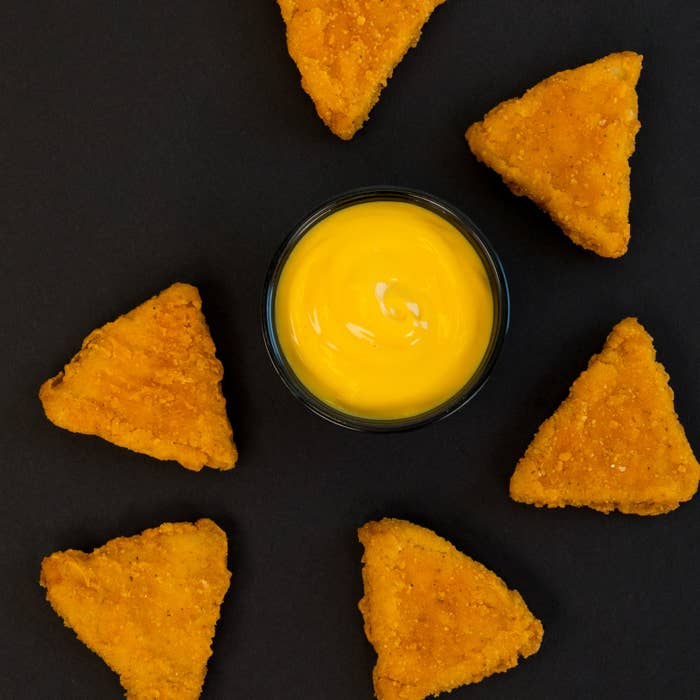 They're called Naked Chicken Chips, but let's be real, you guys: They're NUGGETS.