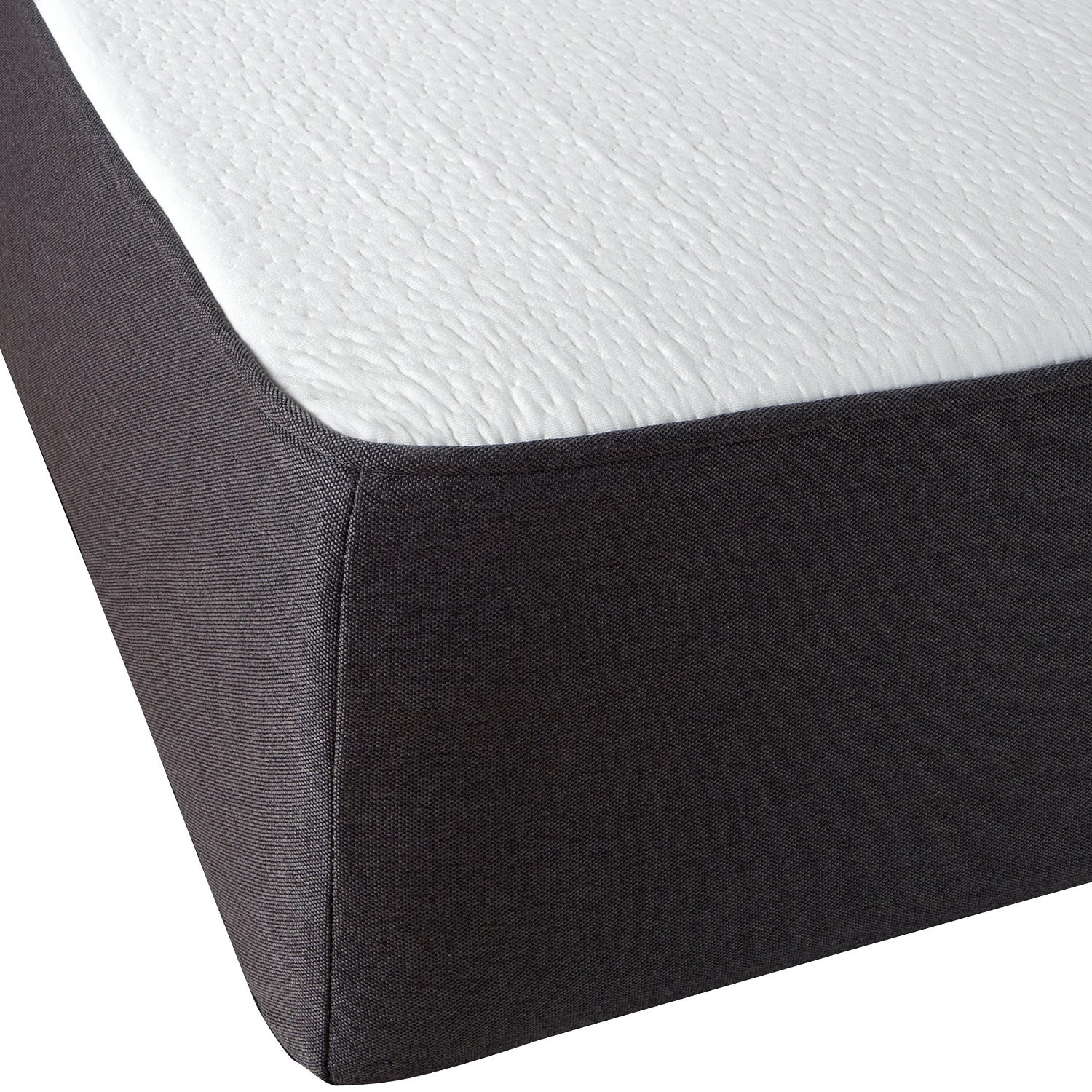 a model that sleeps cool thanks to gel particles encased in its memory foam