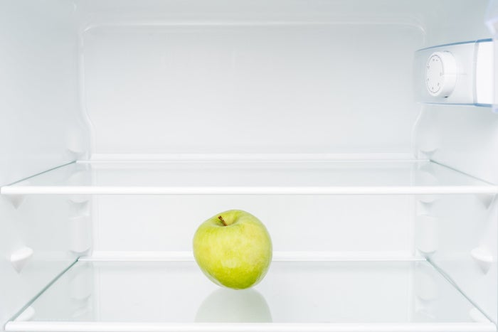 Apples are one of just a few fruits that really benefit from being stored in the cold, so maximize the freshness of your apples by keeping them in the crisper drawer with a damp paper towel.