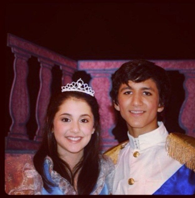 """""""Lol, back when Ariana Grande and I 'dated' and did theater together.""""—joshvenkat"""