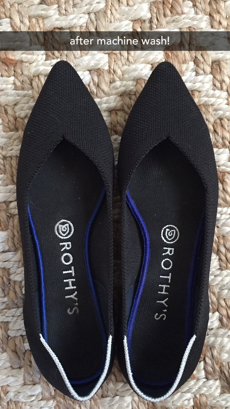 We Tried The Washable Flats You're
