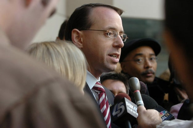 Trump was acting on the advice of Deputy Attorney General Rod Rosenstein.