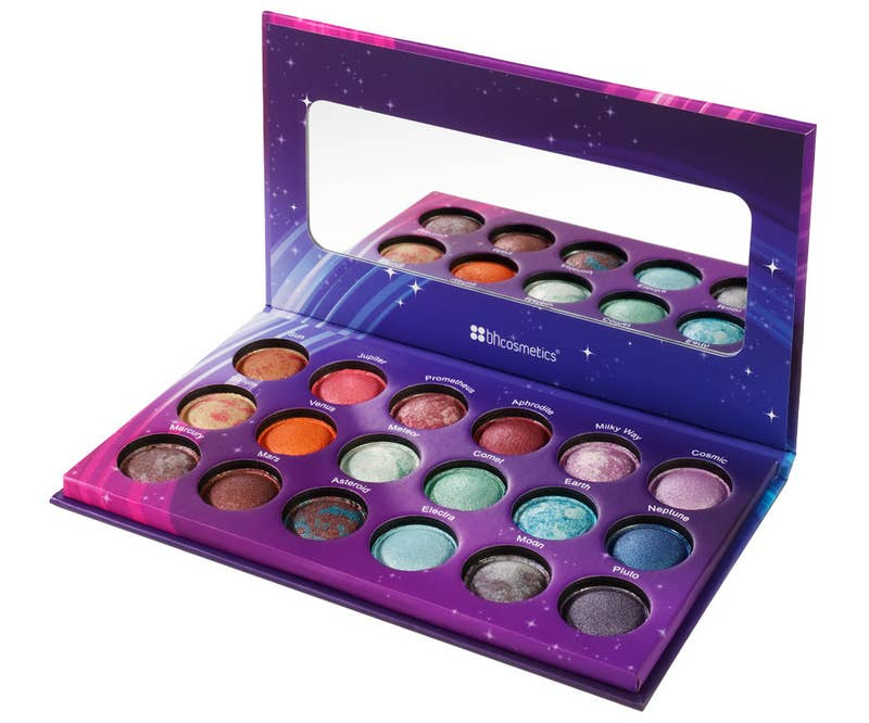 "Get it from BH Cosmetics for $10.71 (on sale from $15.99) or Amazon for $18.82.Promising review: ""Galaxy Chic is an ultra pigmented, strikingly vibrant, vivid, versatile palette. The looks you can create with this palette alone are endless. Rich, vibrant, ultra pigmented shades. I only wish I had known about BH Cosmetics sooner. You absolutely cannot go wrong with any BH Cosmetics products. Truly incomparable quality, value, and customer service."" —Krissy K."
