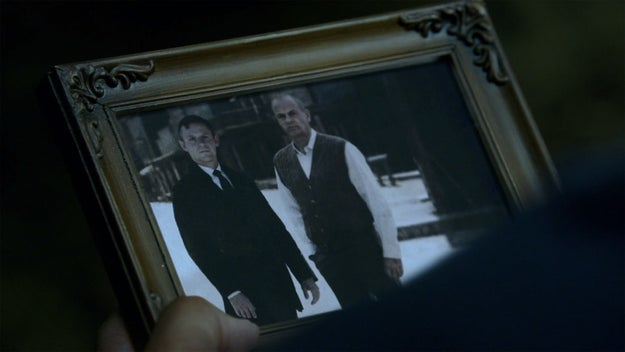 In Episode 3, Ford talks to Bernard about his dead partner named Arnold, while we see a photo of a younger Ford and another man on screen. We assume that other man is Arnold...