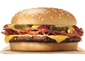Fast Food Burger Has The Most Calories