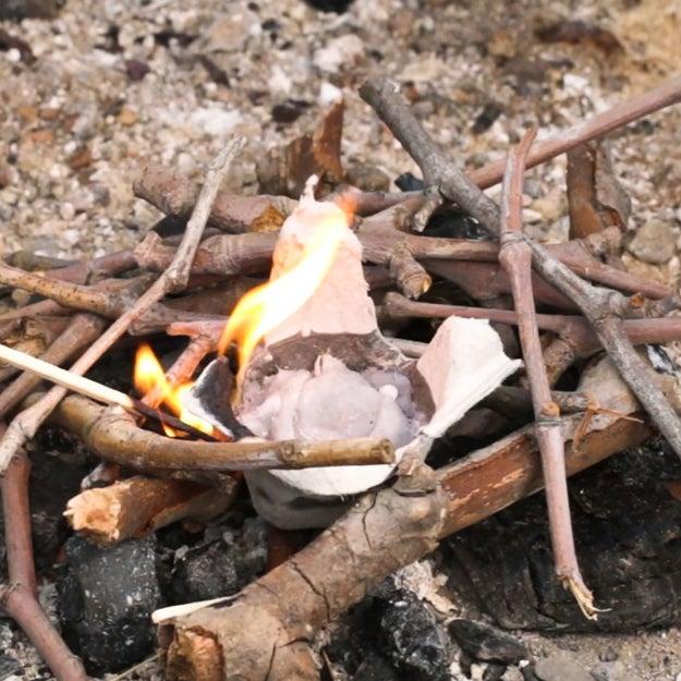 Lint Carton Fire Pods