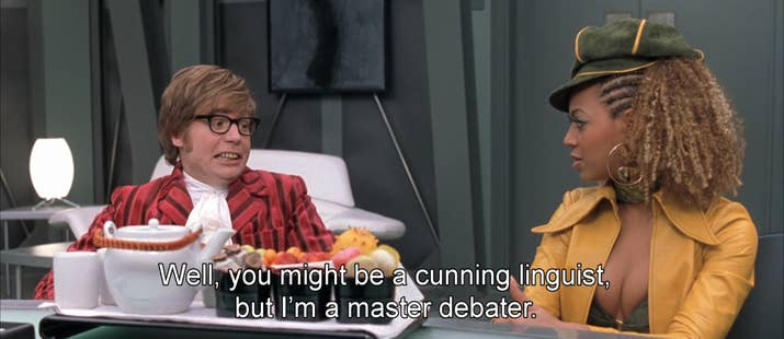 Of The Best One Liners In Austin Powers - 21 best one line jokes ever