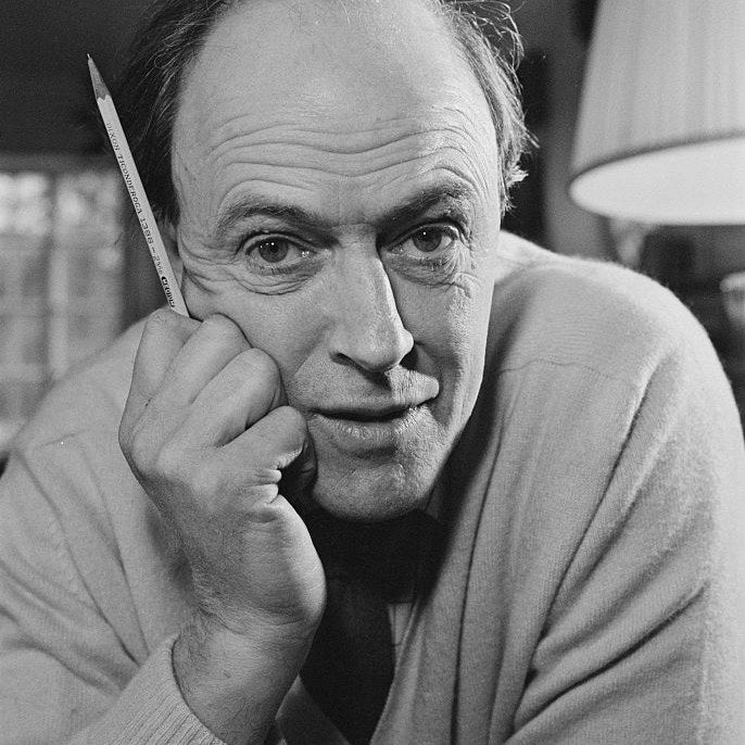 You may not know his face, but the iconic children's author is responsible for such classics as Charlie and the Chocolate Factory, The BFG, Matilda, James and the Giant Peach, The Witches, and OMG do I need to go on?!