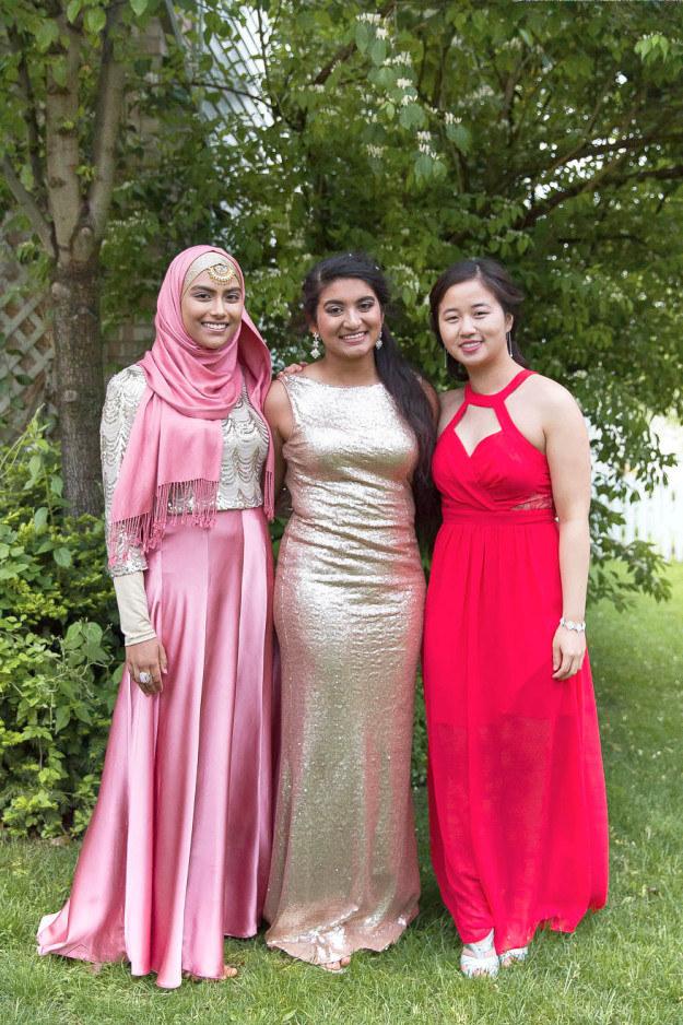 Muslim Girls Formal Dress Style