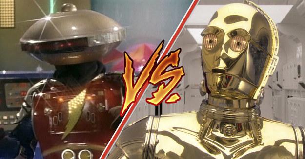 ¡Robomadrazos! ¿Cuál de estos dos pusilánimes ganaría en una pelea?