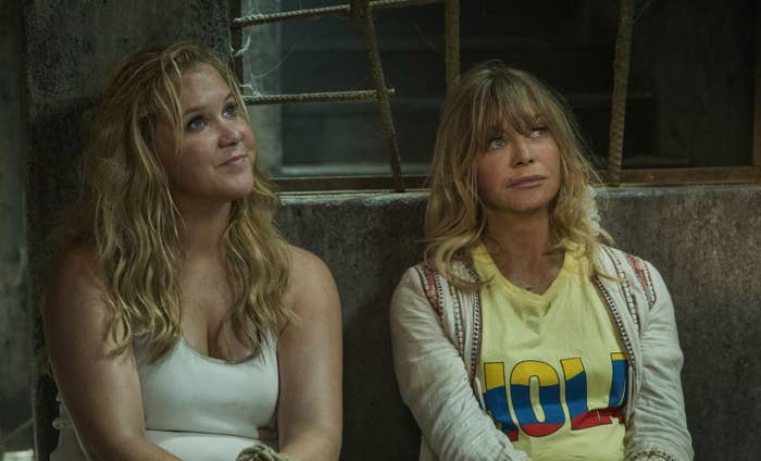 Amy Schumer and Goldie Hawn in Snatched.