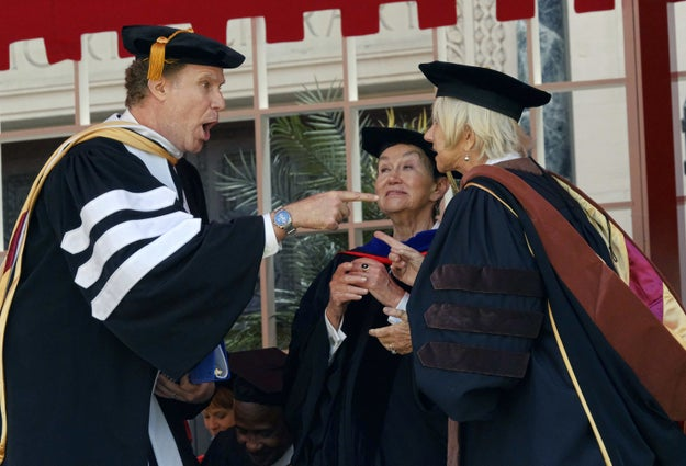 The University of Southern California invited Will Ferrell to speak at the class of 2017 graduation ceremony on Friday —  and it went exactly how you'd imagine Will Ferrell giving a collegiate commencement speech would go.