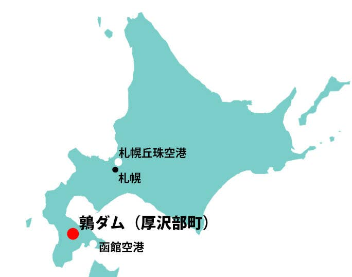 複数の報道によると、LR2連絡偵察機は午前11時20分に札幌丘珠空港を離陸し、函館空港へ向かう途中だった。NHKは「北海道南部の厚沢部町にある鶉ダム付近に墜落か」と報じている。