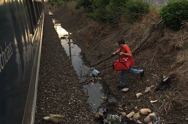 Image result for Stranded Amtrak Passengers Order Pizza To Delayed Train