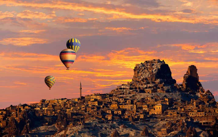 —Erika Baroman, FacebookOne of the most fascinating landscapes on Earth, the whimsical city of Cappadocia in Central Turkey is known for its fairy chimneys, boulders, and pinnacles. Take to the sky by hot air balloon for the absolute best views.