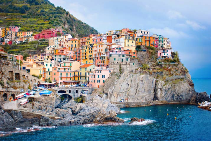 —Charis Vaughn, FacebookMade up of five fishing villages on the Ligurian coastline, Cinque Terre's steep cliffs and vibrant houses look like a page from a storybook.