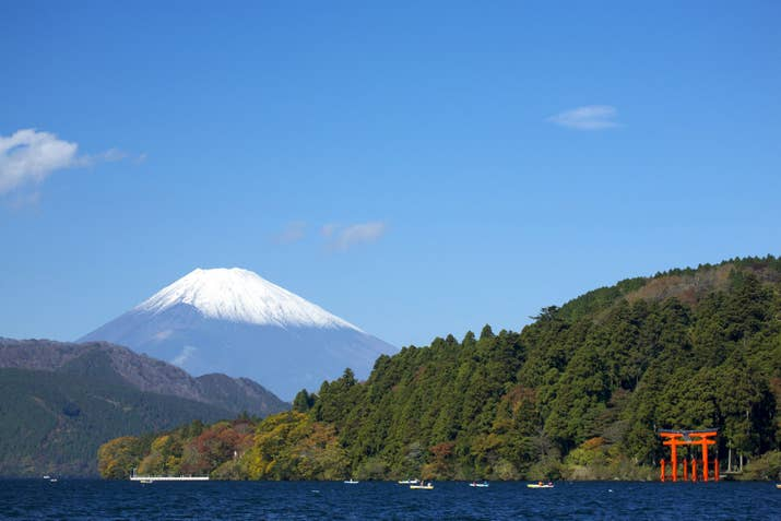 —Bluflmngo1A popular day trip from Tokyo, Hakone is known for its insane mountain vistas and natural hot springs.