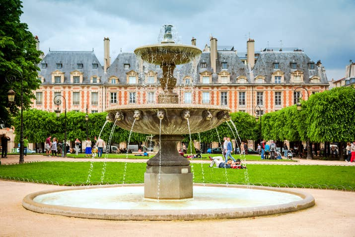 'You'll feel like you've traveled back in time when you visit this beautiful little square in the Marais District.' —katherines468a12996