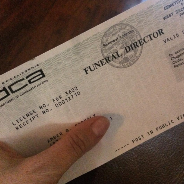 Becoming a funeral director requires education, training, and state certification.