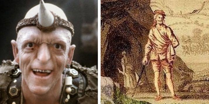 La extraña película sobre caníbales que viven en las colinas de Nevada está basada en el clan de Sawney Bean, un verdadero grupo de caníbales que vivieron en una cueva en Escocia durante el siglo XVI. Ellos asaltaban y devoraban a los aldeanos, y llegaron a asesinar a más de mil personas. —caitlinm18