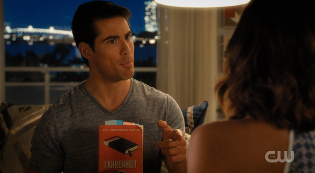 ...but Fabian ~really likes~ Jane. So much, in fact, that he asked her what kinds of books she likes reading so he can talk about them with her.