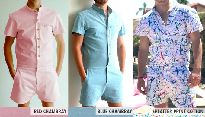 3861c75077f Rompers For Dudes Are Here And TBH I Don t Hate Them