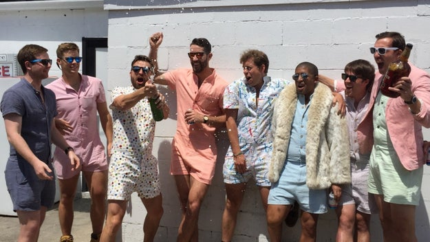 Oh, and because 2017 is wild: MAN ROMPERS.