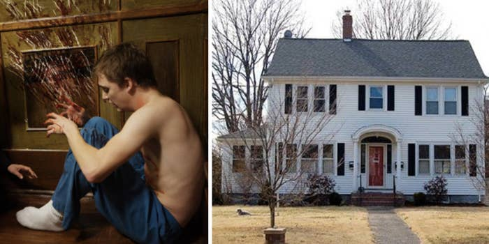 The real-life haunting in Connecticut is very true to the film: Mom Carmen Reed moved to a former funeral home for a few years to be closer to her son's cancer treatment center, and while they lived there, 'malevolent forces' would slap, grope, and threaten them.—christinal4b5