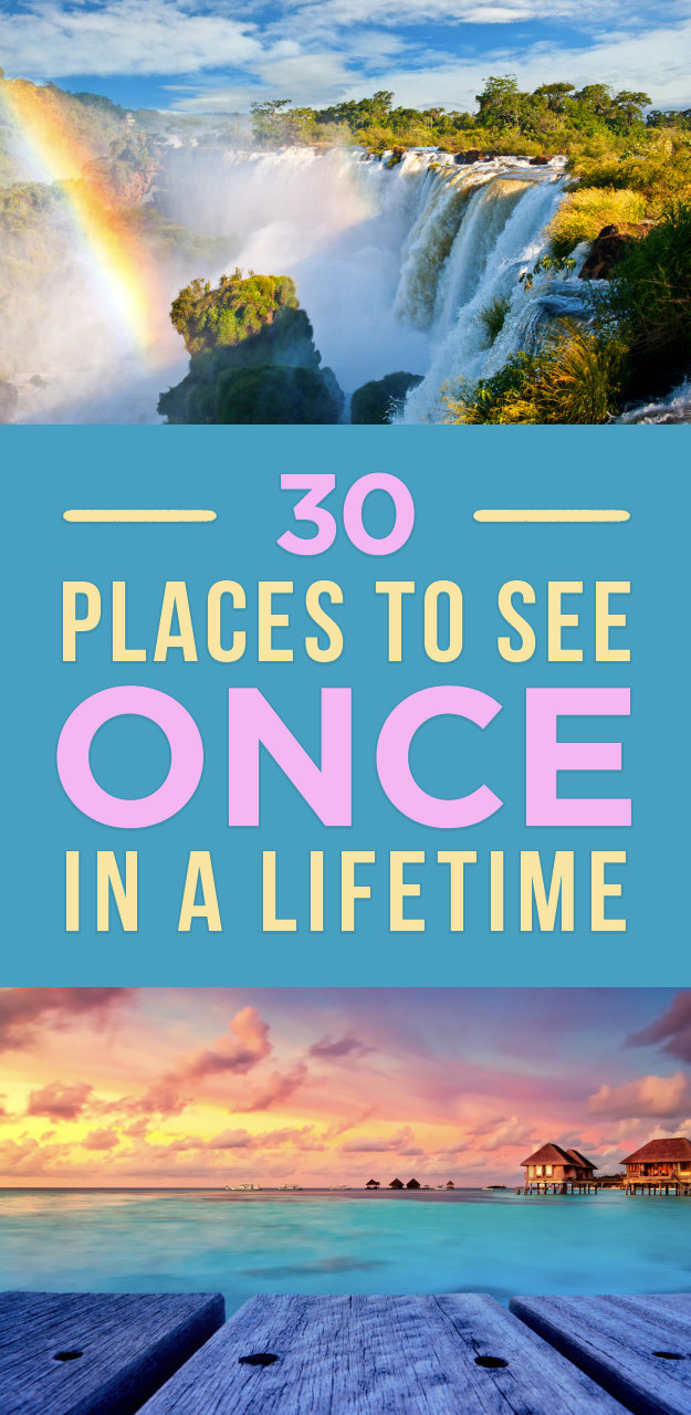 30 Of The Most Breathtaking Destinations On Earth