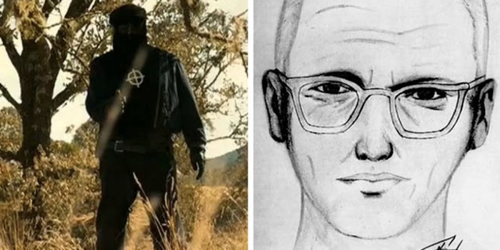 In the '60s and '70s, the Zodiac Killer murdered seven people and then sent cryptic letters to authorities to taunt them about his identity. The case is still unsolved, and this movie is about a reporter trying to figure out who the dude was.—Jennifer Miskell, Facebook