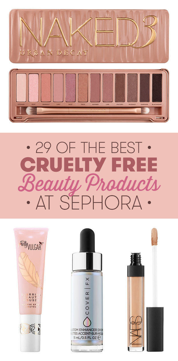 29 Cruelty-Free Beauty Products To Get At Sephora Right Now