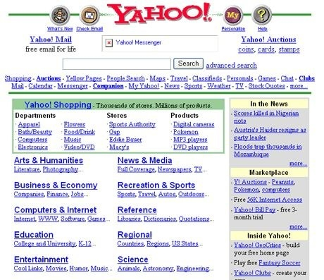 And search engines like this: