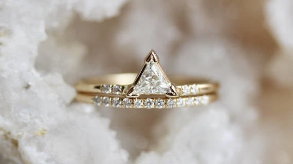 Get it from LieselLove on Etsy for $1,750 (available in 14k yellow, white, and rose gold, and in sizes 3-10 3/4).