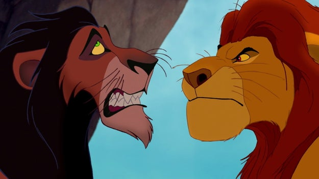"""I'm about to show you my damn teeth, Scar, that's how MAD I AM."""