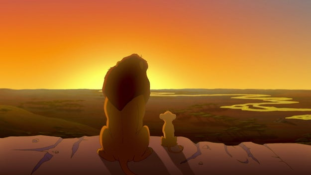 Anyways, time passes and we fast-forward to the day that Simba finds out he is literally lion royalty.