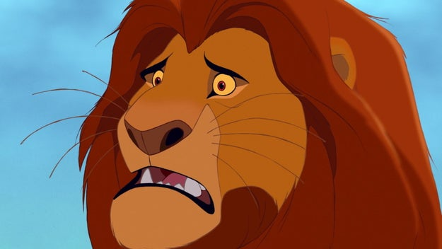"""But OMG I can't believe Simba is in grave danger again. It's almost like it's not a coincidence."""