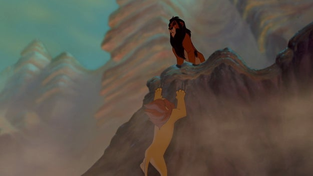 Oh good. Scar's here. He'll end up doing the right thing, right? It's his own damn brother.