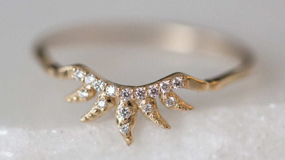 Get it from Sofia Zakia on Catbird for $1,020 (available in 14k rose and yellow gold, and in sizes 3-9).