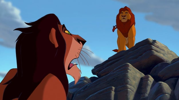 """Hey Mufasa! Something really bad is happening RN that I totally had nothing to do with! Come quick!"""