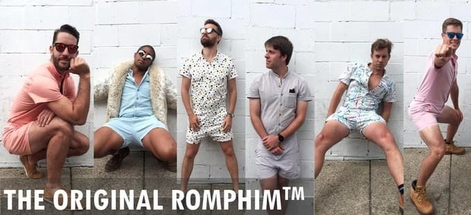 """Yes, really. It's called the """"RompHim,"""" and it's already raised over $70,000 on Kickstarter."""
