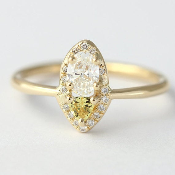 Get it from artemer on Etsy for $2,500 (available in 18k rose, yellow, and white gold, and in sizes 3-9).