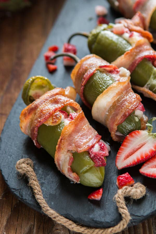 Only the most elevated palate can truly appreciate a strawberry-stuffed jalapeño. Fortunately, you have graduated to this level.Get the recipe here.