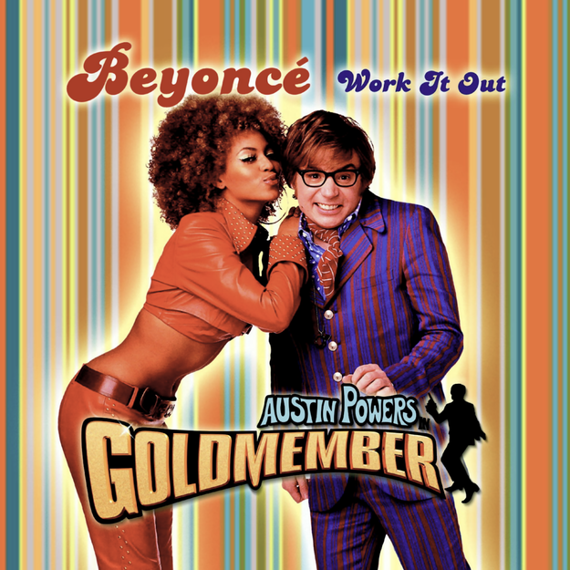 "Beyoncé's first solo single was 2002's ""Work It Out,"" which appeared on the soundtrack to Austin Powers in Goldmember."