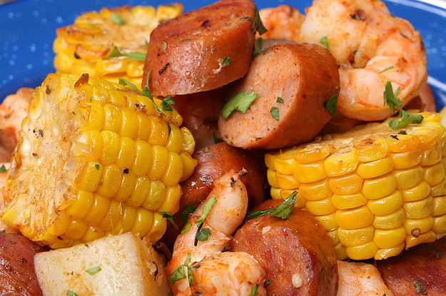 Put On Your Bib And Get Down With This Cajun Shrimp Bake